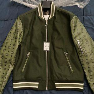 MCM mens letterman jacket